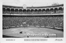 spo017272 - Old Vintage Bull Fighting Postcard Post Card