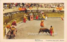 spo017275 - Old Vintage Bull Fighting Postcard Post Card