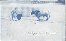 spo017276 - Old Vintage Bull Fighting Postcard Post Card
