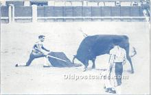 spo017280 - Old Vintage Bull Fighting Postcard Post Card
