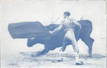spo017281 - Old Vintage Bull Fighting Postcard Post Card
