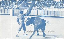 spo017284 - Old Vintage Bull Fighting Postcard Post Card