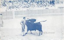 spo017288 - Old Vintage Bull Fighting Postcard Post Card