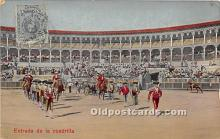 spo017291 - Old Vintage Bull Fighting Postcard Post Card