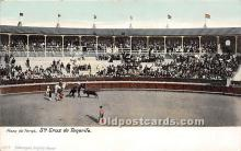 spo017292 - Old Vintage Bull Fighting Postcard Post Card