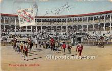 spo017294 - Old Vintage Bull Fighting Postcard Post Card