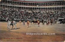spo017298 - Old Vintage Bull Fighting Postcard Post Card