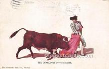 spo017303 - Old Vintage Bull Fighting Postcard Post Card