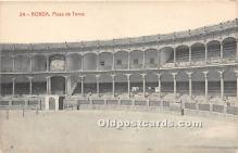 spo017309 - Old Vintage Bull Fighting Postcard Post Card