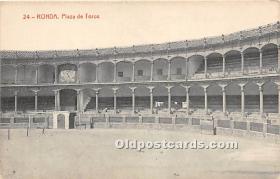 Ronda, Plaza e Toros