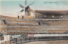 spo017310 - Old Vintage Bull Fighting Postcard Post Card