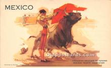 spo017311 - Old Vintage Bull Fighting Postcard Post Card