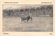 spo017321 - Old Vintage Bull Fighting Postcard Post Card