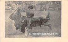 spo017323 - Old Vintage Bull Fighting Postcard Post Card