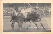 spo017329 - Old Vintage Bull Fighting Postcard Post Card