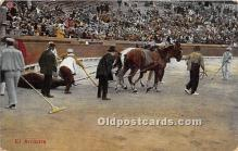 spo017333 - Old Vintage Bull Fighting Postcard Post Card