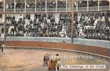 spo017337 - Old Vintage Bull Fighting Postcard Post Card