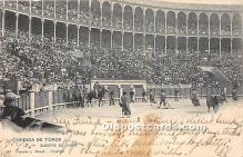 spo017338 - Old Vintage Bull Fighting Postcard Post Card