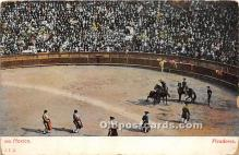 spo017341 - Old Vintage Bull Fighting Postcard Post Card
