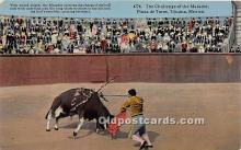 spo017343 - Old Vintage Bull Fighting Postcard Post Card