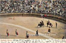 spo017344 - Old Vintage Bull Fighting Postcard Post Card
