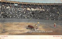 spo017347 - Old Vintage Bull Fighting Postcard Post Card