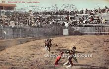 spo017349 - Old Vintage Bull Fighting Postcard Post Card