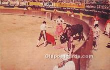 spo017350 - Old Vintage Bull Fighting Postcard Post Card