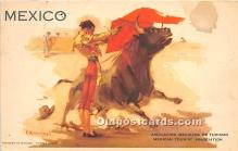 spo017359 - Old Vintage Bull Fighting Postcard Post Card