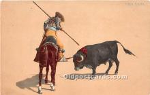 spo017360 - Old Vintage Bull Fighting Postcard Post Card
