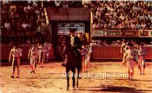 spo017374 - Old Vintage Bull Fighting Postcard Post Card