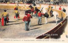 spo017378 - Old Vintage Bull Fighting Postcard Post Card