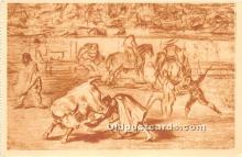 spo017392 - Old Vintage Bull Fighting Postcard Post Card