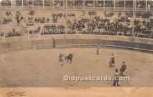 spo017395 - Old Vintage Bull Fighting Postcard Post Card
