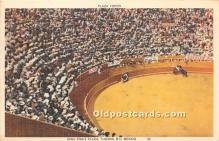 spo017399 - Old Vintage Bull Fighting Postcard Post Card