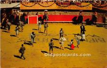 spo017404 - Old Vintage Bull Fighting Postcard Post Card
