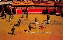 spo017410 - Old Vintage Bull Fighting Postcard Post Card