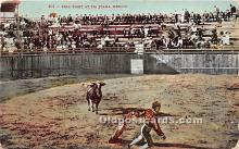 spo017413 - Old Vintage Bull Fighting Postcard Post Card