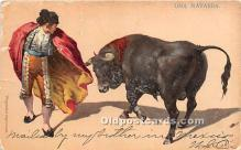spo017414 - Old Vintage Bull Fighting Postcard Post Card