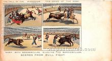 spo017416 - Old Vintage Bull Fighting Postcard Post Card