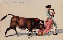 spo017425 - Old Vintage Bull Fighting Postcard Post Card