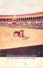 spo017437 - Old Vintage Bull Fighting Postcard Post Card