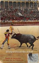 spo017439 - Old Vintage Bull Fighting Postcard Post Card