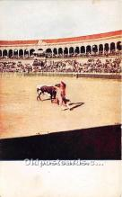 spo017440 - Old Vintage Bull Fighting Postcard Post Card