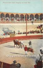 spo017448 - Old Vintage Bull Fighting Postcard Post Card