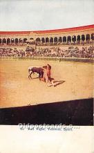 spo017462 - Old Vintage Bull Fighting Postcard Post Card