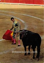 spo017464 - Old Vintage Bull Fighting Postcard Post Card