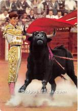 spo017465 - Old Vintage Bull Fighting Postcard Post Card