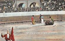 spo017467 - Old Vintage Bull Fighting Postcard Post Card
