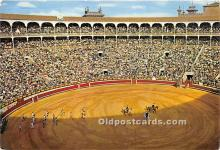 spo017468 - Old Vintage Bull Fighting Postcard Post Card